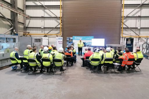 BECBC PHOTO Nuc Eng Group visit to Carrs 15 Nov 2019 by HD