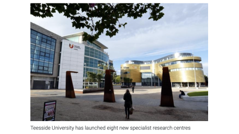 Northern Echo Teesside Uni News Sept 2020