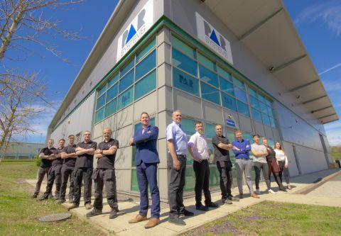 PAR Systems team Lillyhall