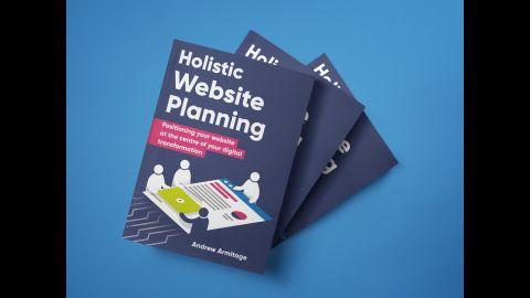 Holistic Website Planning Blue Backgroun