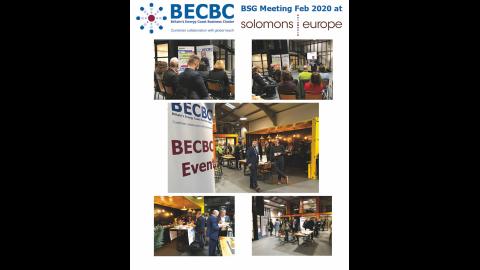 BECBC BSG Mtg at Solomons Photo Montage 19 Feb 2020