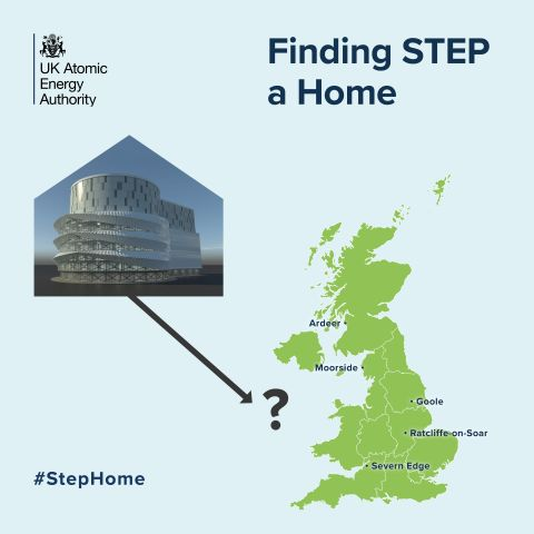 STEP sites map square