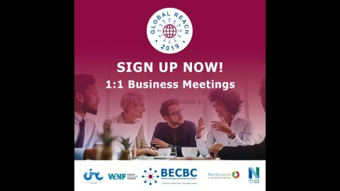 Global Reach Business Meetings Graphic
