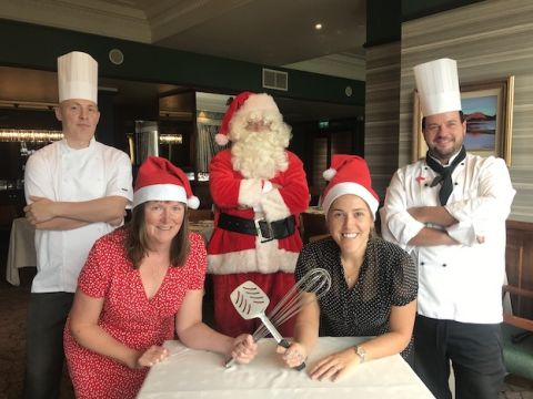 L Joanne Holborn2 C BW R Abi Bailey Barclays2 C head chefs Lodore Falls Father Christmas copy