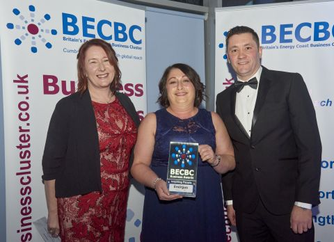 BECBC Awards17 PHOTO WINNER and SPONSOR Insp People AWARD Energus and NIS 3