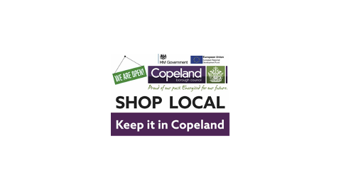 Copeland Keep it Local Campaign logo