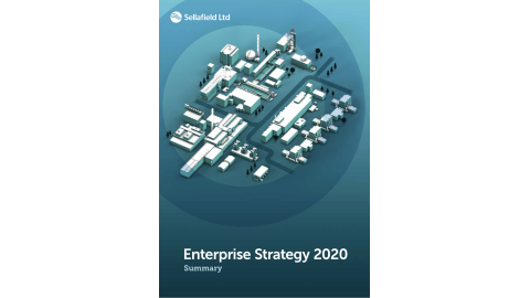 Sellafield Ltd Enterprise Strategy Final cover graphic