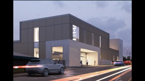 Const Enq news Oct 2020 re Salford robotics ctr