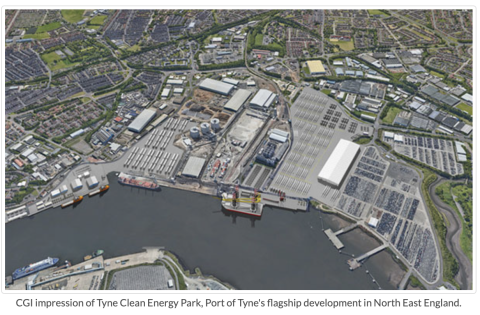 Energy Global Port Tyne news Nov 2020