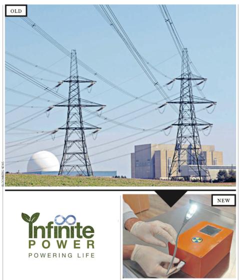 Infitie Power telegraph photos