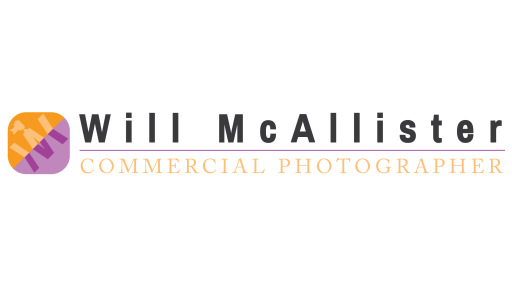 Will Mc Allister Photography Logo and Text for Light Background